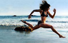 HIIT cardio per week training workout flat-abs fitness Fitness Inspiration, Workout Inspiration, Running Inspiration, Body Inspiration, The Beach, Girl Beach, Beach Babe, Fitness Motivation, Running Motivation
