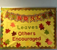 Kindness Leaves Others Encouraged School Bulletin Board Christmas Library Bulletin Boards, School Welcome Bulletin Boards, Religious Bulletin Boards, Kindness Bulletin Board, February Bulletin Boards, Elementary Bulletin Boards, Thanksgiving Bulletin Boards, College Bulletin Boards, Christian Bulletin Boards