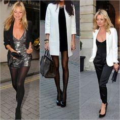 Hoy nos inspiramos en la súper modelo Kate Moss y su estilo. El resultado? Un look de civil  clásico y elegante! No es perfecto?!