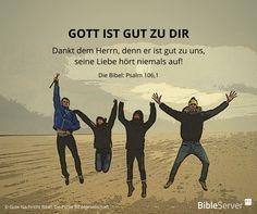 Bibelvers nachzulesen in der Bibel auf #BibleServer | Psalm 106,1