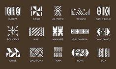 Fijian tattoo designs