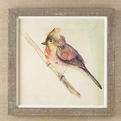 Petite Bird Framed Print I