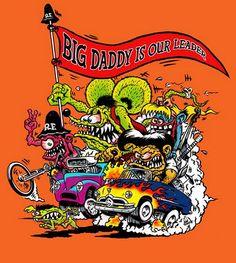 Ed 'Big Daddy' Roth (Rat Fink)