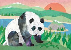 Giant Panda Art Print