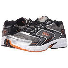 (フィラ) Fila メンズ シューズ・靴 スニーカー Xtent 3 並行輸入品  新品【取り寄せ商品のため、お届けまでに2週間前後かかります。】 表示サイズ表はすべて【参考サイズ】です。ご不明点はお問合せ下さい。 カラー:Dark Silver/Black/Vibrant Orange