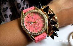#Relógio #Clock #Pulseiras #Bracelets