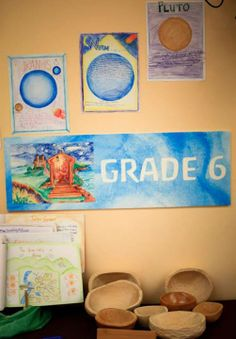 Pasadena Waldorf School A sample of astronomy and wood carving. Grade 6.
