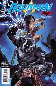 Aquaman #50 Batman v Superman Variant DC Comics (2016)