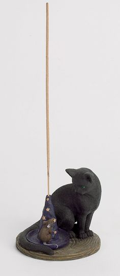 Magical Cat and Mouse Incense Burner - Nemesis Now in the USA