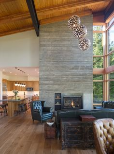 Tumble Creek Cabin by Coates Design in Sync with Nature in Suncadia Resort, Washington | Archute