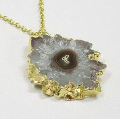 Amethyst Stalactite Necklace $72 by Blooming Lotus Jewelry