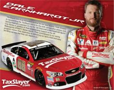FREE 2016 TaxSlayer Racing Hero Card on http://www.icravefreebies.com/