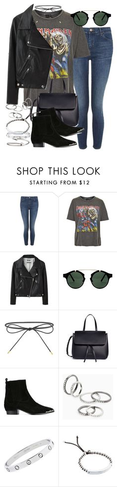 """Sin título #4189"" by hellomissapple on Polyvore featuring moda, Topshop, And Finally, Acne Studios, Spitfire, Elizabeth and James, Mansur Gavriel, Ash, MANGO y Cartier"