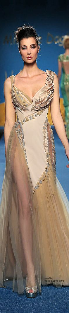 Mireille Dagher Couture Spring 2014