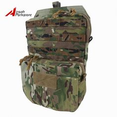 Tactical universal pouch 4x4 cells MOLLE//PALS Organizer Bag Army Airsoft Hiking