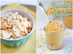 Toasted Coconut Butter. Toss a spoonful into a cup of 0% Plain Chobani Greek Yogurt and BAM!