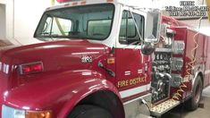 1997 International 4900 with a Ferrara body on this used fire truck for sale. Hale 1250 gpm pump and poly tank. Contact Firetec at for all your used fire trucks needs. Fire Trucks For Sale, Poly Tanks, Used Engines, Fire Apparatus, Fire Engine, Fire Department, Pump, Engineering, Fire Dept