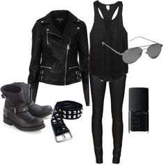 Biker Outfit Ideas Collection pin on fashion Biker Outfit Ideas. Here is Biker Outfit Ideas Collection for you. Biker Outfit Ideas biker chick fashion for the daredevil girls. Hipster Outfits, Rock Outfits, Emo Outfits, Grunge Outfits, Girl Outfits, Casual Outfits, Fashion Outfits, Biker Outfits, Vegas Outfits