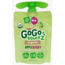 GoGo SqueeZ Organic Apple Berry On the Go Apple Sauce 32 Ounce  48 per case * You can find more details by visiting the image link. #Desserts