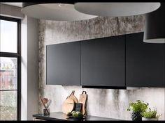 Nooit meer uw hoofd stoten aan een openstaand bovenkastje. Ideaal toch? In onze showroom in Capelle aan den IJssel kunt u deze kastjes zelf beleven. Bel voor een afspraak, dan zien we u binnenkort! #keuken #kitchen #kitchendesign #zwartekeuken #keukenkopen #industrielekeuken #modernekeuken #kookeiland #keukeneiland #keukenzaak #keukenwinkel #rotterdam #keukenstore #opgeleverdekeuken #keukendesign #exclusievekeuken Interior Design Kitchen, Bathroom Lighting, Furniture, Home Decor, Bathroom Light Fittings, Bathroom Vanity Lighting, Decoration Home, Room Decor, Home Furnishings