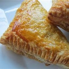 """Apple Turnovers """"Delicious, yet so easy to make. Anyone can do these classic apple turnovers!"""""""
