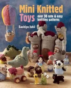 Let your imagination run wild with the latest title from innovative knitter, Sachiyo Ishii. This charming book contains over 30 fun, simple knitting patterns for a range of cute and cuddly toys. Create simple playthings such as animals, cars, trains, fairies and cupcakes, and then try your hand at larger toy sets, including a castle under siege, an alien invasion, a prehistoric play-scene and a fairytale cottage complete with magical characters!