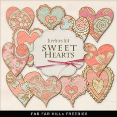 New Freebies Kit of Paper Hearts