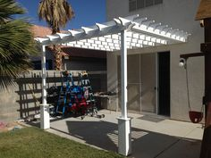 Ana White | Pergola (attached directly to the house) - DIY Projects