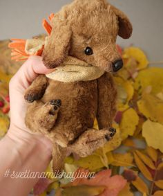 Такса dog bears handmadedog