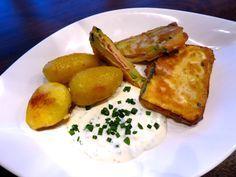 Zucchini Cordon Bleu in Bierteig
