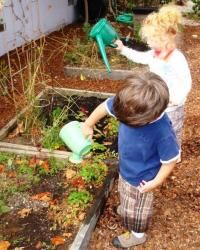 From the Lifeways newsletter about gardening with small children throughout the year and different activities for children  from the garden: