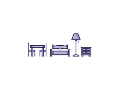 Icons, Symbols & Pictograms / Furniture