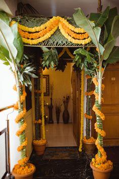 Desi Wedding Decor, Outdoor Wedding Decorations, Backdrop Decorations, Diwali Decorations, Festival Decorations, Home Wedding, Flower Decorations, Wedding Ideas, Wedding Prep