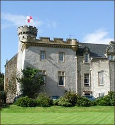 Tulloch Castle dates from the 12th century.