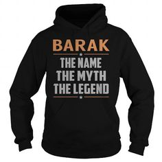 BARAK The Myth, Legend - Last Name, Surname T-Shirt T-Shirts, Hoodies (39.99$ ==► Order Here!)