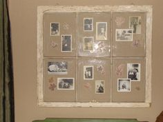 """Framed"" photos of my hubbies family members"