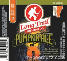 mybeerbuzz.com - Bringing Good Beers & Good People Together...: Long Trail - 2014 Pumpkin Ale