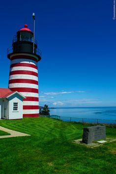 West Quoddy Lighthouse, Lubec, Maine