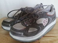 Women's Skecher Shape-Ups 11806 Running Toning Shoes Size 7.5 US / 4.5 UK #SKECHERS #RunningCrossTraining