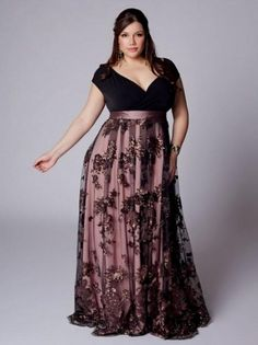 plus size long dresses | Long Black Dress Formal Plus Size Long formal dress…