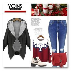 """yoins #44"" by almedina-86 ❤ liked on Polyvore featuring Topshop and yoins"
