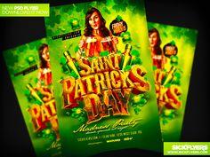 St Patricks Day Flyer Template PSD by Industrykidz