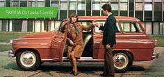 SKODA Octavia Combi #SKODA #SkodaStory Retro Cars, Vintage Cars, Car Brochure, Skoda Fabia, I Gen, Car Posters, Czech Republic, Volkswagen, Russia