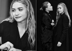Olsens Anonymous Mary Kate Ashley Olsen Neiman Marcus Magazine Interview Black And White Long Wavy Hair Style Ken Downing Interview Beauty Inspiration Hairspiration Effortless Hair Up Low Bun  A MKA photo Olsens-Anonymous-Mary-Kate-Ashley-Olsen-Neiman-Marcus-Magazine-Interview-Black-And-White-Long-Wavy-Hair-Beauty.jpg