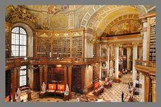 National Library in Vienna, Austria