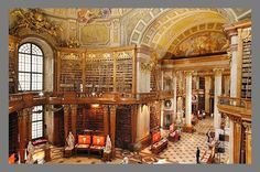 National Library in Vienna, Austria
