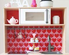 Mini Kühlschrank Für Ikea Regal : Die besten bilder von ikea hack duktig kinderküche in