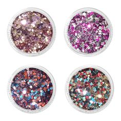 A set of metallic hex glitter mix in 4 different dark fun confetti colors, inspired by a whimsical Halloween party scheme. These glitter are great in quality, they can be used with nail polish, gel or acrylic. Whimsical Halloween, Halloween Party, Chrome Powder, Japanese Nail Art, Color Crafts, Nail Decorations, Art Pages, Alice In Wonderland, Beautiful Flowers