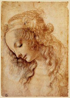 Leonardo da Vinci - Retrato de una mujer (what painting in Ever After is based off of)