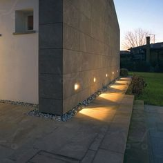 Insert - Lampada incasso M Walkway Lights, Pathway Lighting, Landscape Lighting, Outdoor Lighting, Outdoor Decor, Luz Natural, Sidewalk Lighting, Light Oak, Exterior Lighting